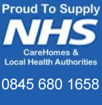 Proud to Supply NHS CareHomes and Local Health Authorities