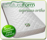 Orthopedic Mattress - Postureform Supreme Ortho 20cm Foam Matress