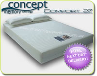'Orthopedic'  Foam Mattresses - Concept Comfort 27 - 15cm