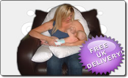 "Maternity Breast Feeding and Nursing  Pillow"" NEW TO THE UK MARKET"""
