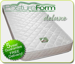 Foam Orthopedic Mattresses - Postureform Deluxe - All Sizes Available!
