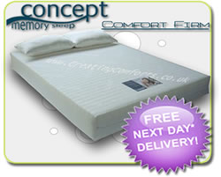 Firm Orthopaedic Foam mattresses - Concept Comfort