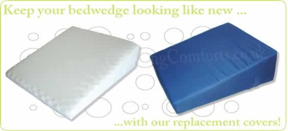 Spare Memory Foam Bed Wedge Covers - both sizes