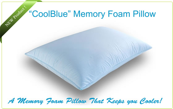 Cool Pillow Memory Foam Pillows Support Pillow