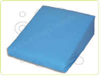 Bedwedge with waterproof vapour pearmable VP zip off cover - Sky Blue